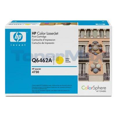 HP CLJ 4730 MFP TONER CART YELLOW GOV